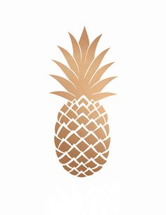 Gold Pineapple Print Printable Art Gold by PaperStormPrints Cute Wallpapers, Wallpaper Backgrounds, Iphone Wallpapers, Gold Wallpaper, Pineapple Wallpaper, Image Deco, Grafik Design, Printable Wall Art, Free Printables