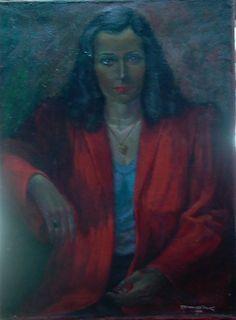 Portret van mijn moeder
