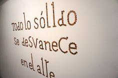 """""""Todo lo sólido se desvanece en el aire"""",Ángela Cuadra en la #Exposición """"Aire y Tiempo. La danza de la multiplicidades"""" #SalaAmadís #Madrid #Arte #Art #ContemporaryArt #ArteContemporáneo #Arterecord 2016 https://twitter.com/arterecord"""