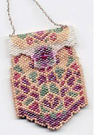 Peyote Purse Necklace Pattern