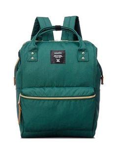7531c61e5c60 Authentic Anello Japan Imported Canvas Unisex Backpack Dark Green -  Lulugift.com… Prada Backpack