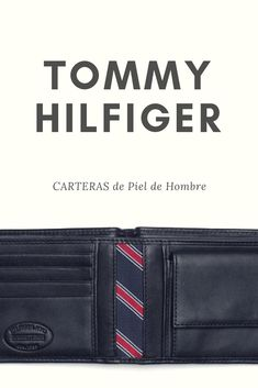 1b3c3786954fa La cartera Tommy Hilfiger para hombre son palabras mayores. La empresa  fundada por el diseñador