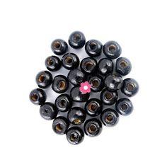 15 pièces Coloré Mélange 25mm x 12mm Perle-Bastelset perle Mix