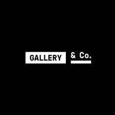 Gallery & Co. by Foreign Policy, 2015. #logotype #branding