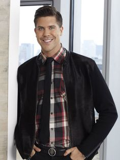 Fredrik from Million Dollar Listing: New York. He is so adorable.