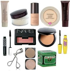 Everyday Makeup - Natural. By far my favorite makeup products!