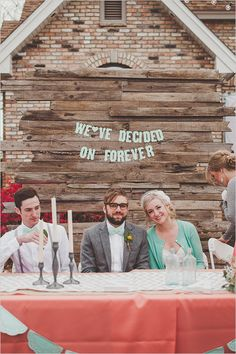 40 Awesome Signs You'll Want At Your Wedding- this would be so cute for engagement photos!