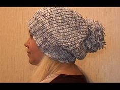 Как связать зимнюю, женскую шапку спицами !!!