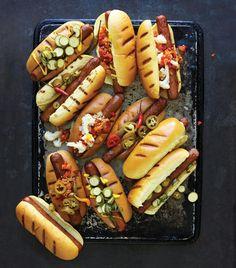 Hebrew National hot dog with reduced cal bun - 214 cal
