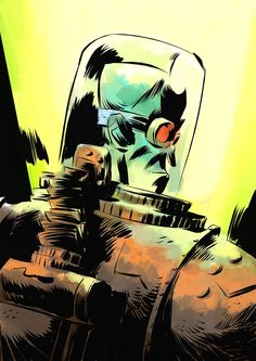 Batman Rogue Gallery: Mr Freeze by Pal Andersen