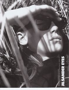 Angela Lindvall for Jil Sander, photographed by David Sims, Fall/Winter 1997
