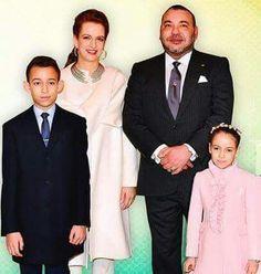La famille Royale du Maroc