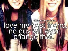 Even with all that's happening right now, TBH, I just need my best friend to be happy. :) I love you, Anya!!! You are so amazing, no words can explain how much you mean to me :3 No boy can replace you, not one out there :)