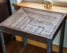pallet side table - Google'da Ara