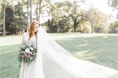 Romantic Sunset Bridal Portraits Straight out of a Fairytale at this Unbelievably Unique Southern Wedding Day