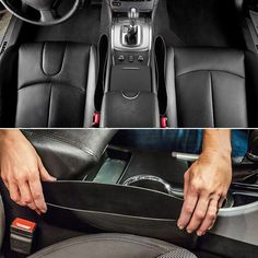 Vehicle Front Seat Gap Filler Organizer All About Tidy has identified the gap between the front seats of a vehicle and the console as one of the most irritating things about a car. From cell phones to