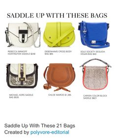 The saddle bag is BACK!