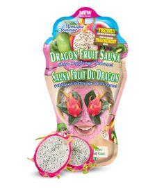 Dragon Fruits Sauna anisgtsmaske - 10 kr. stk. http://www.montagnejeunesse.com/dragon-fruit-sauna-face-mask