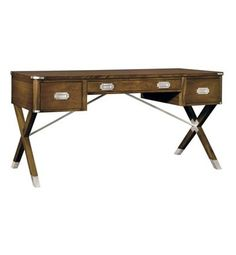 Asheworth Campaign Desk from the Suzanne Kasler® collection by Hickory Chair Furniture Co.