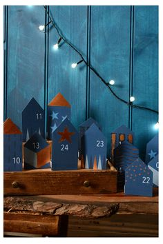 Punch up your holiday with a cool advent calendar. Here are our favorites in all shapes and sizes. Cool Advent Calendars, Homemade Advent Calendars, Diy Advent Calendar, Christmas Mood, Merry Little Christmas, Noel Christmas, Holiday Crafts For Kids, Christmas Crafts, Advent Calenders