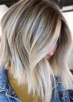 Pretty Blonde Shades with Dark Roots for Women in 2019