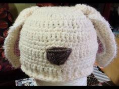 "Tutorial cappello bimbi all'uncinetto con le ""orecchie"" - Crochet Hat - sombrero crochet con orejas Dou Dou, New Years Eve Party, Winter Hats, Crochet Hats, Beanie, Handmade, Video, Macrame, Youtube"