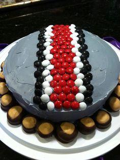 Buckeyes birthday cake