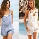 Ekadınca Kadın ve Moda Sitesi | Yazlık Şort Tulum Modelleri 2014 | http://www.ekadinca.com