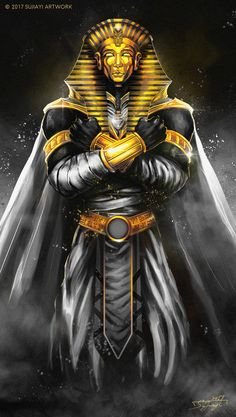DeviantArt is the world's largest online social community for artists and art enthusiasts, allowing people to connect through the creation and sharing of art. Ancient Egyptian Deities, Ancient Egypt Art, Egyptian Art, Osiris Tattoo, Pharaoh Tattoo, Egypt Tattoo Design, Egypt Concept Art, Egyptian Tattoo Sleeve, Egypt Culture