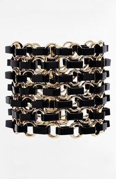 Tory Burch Troy Burch 'Aselma' Link Statement Bracelet available at #Nordstrom