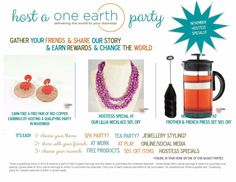 Just a reminder of #Novembers #hostreward specials! Book your party to get some #freestuff!  Message me to order or shop online. oneearthbydanielle@gmail.com or www.facebook.com/oneearthbydanielle or www.one1earth.com/#_a_danielle.waite #one1earth #bepartofthechange #peoplehelpingpeople
