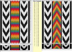 36 tarjetas hexagonales, 8 colores // sed_570_c6 diseñado en GTT༺❁