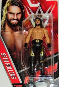 WWE Basic Figure, Seth Rollins (Discontinued by manufacturer) for sale online Wwe Seth Rollins, Wwe Toys, Wwe Action Figures, Wwe Elite, Professional Wrestling, Roman Reigns, Kids Sports, Brand New, Superhero
