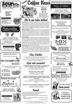 Coffee News Bilbao Nº4