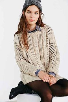 Gat Rimon Maiti Cable-Knit Sweater