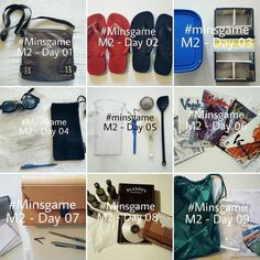 #minsgame Month 2 - Days 1-9 #minimalist #noisydeadlines #minimalism #declutter