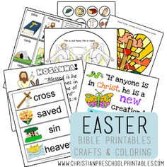 Easter Printables / Resurrection Printables