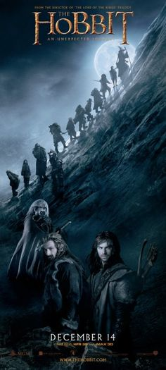 Blue is never boring...The Hobbit: An Unexpected Journey Movie Poster #28 - Internet Movie Poster Awards Gallery