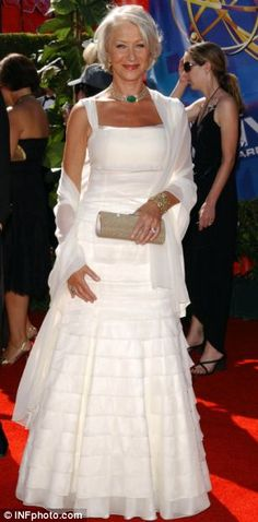 Helen Mirren, DBE. No one has really ever given me a good reason not to worship her.