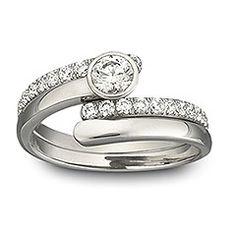 Engagement ring by Swaroski