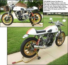 Yamaha Street Trackers on Vintage Flat Trackers Pages Flat Track Motorcycle, Yamaha Cafe Racer, Sr500, Flat Tracker, Street Tracker, Motorbikes, Motorcycles, Wheels, Flats