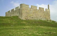Hume Castle, in Berwickshire, Scotland. James is apart of the Hume clan, who knew my husband had a castle
