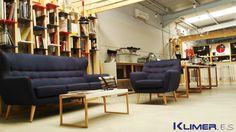 pingpongarquitectura diseño interior oficina y sala exposición #Klimer