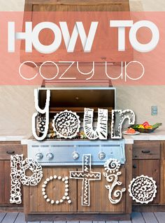 How to Cozy Up Your Patio