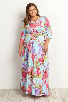 9a565525b69d0 20 Best Plus size maternity dresses images | Overweight pregnancy ...