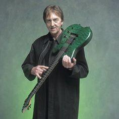 Allan Holdsworth guitar carvin guitars