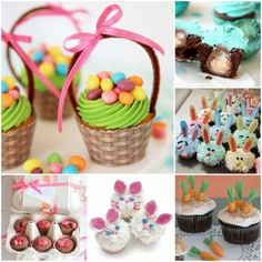 10 Easter Cupcake Recipes - Easter is coming, so you might want to add these to your list of things (fun things!) to do | MollyMooCrafts.com