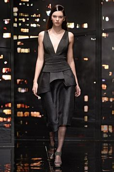 Every Look Kendall Jenner Modeled at New York Fashion Week