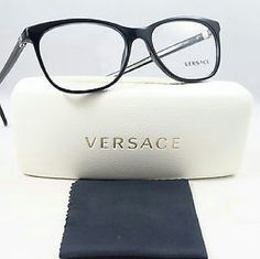 Versace Eyeglasses Versace Eyeglasses New and Authentic  Black frame  53mm Includes original case Versace  Accessories Glasses