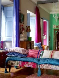 #bohemian #patchwork of color